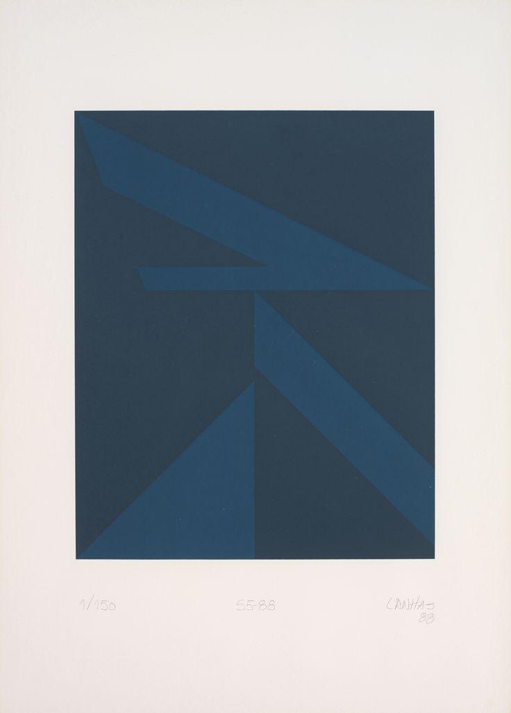 Fernando Lanhas (Porto, Portugal, 1923 - Porto, Portugal, 2012) S5-88, 1988