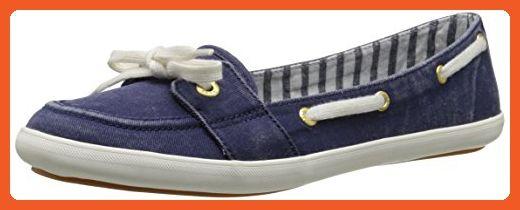 Keds Women's Teacup Boat Seasonal Solid Fashion Slip-On, Navy, 8 M US - Sneakers for women (*Amazon Partner-Link)