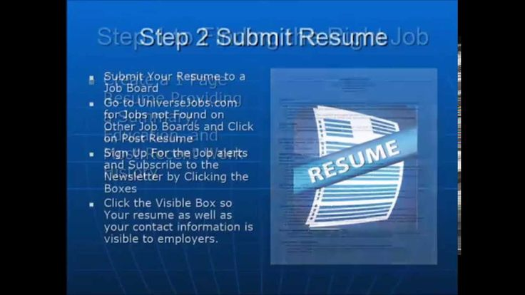 Find a Job in 4 Easy Steps - Upload YOur Resume Here u003e    www - submit resume
