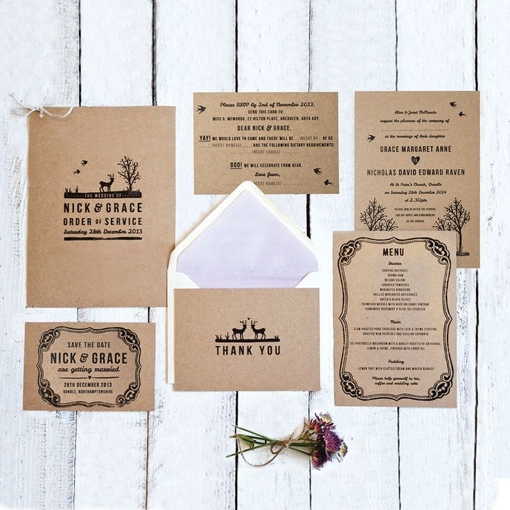 your wedding stationery can set the tone and feel for the whole day the lovely