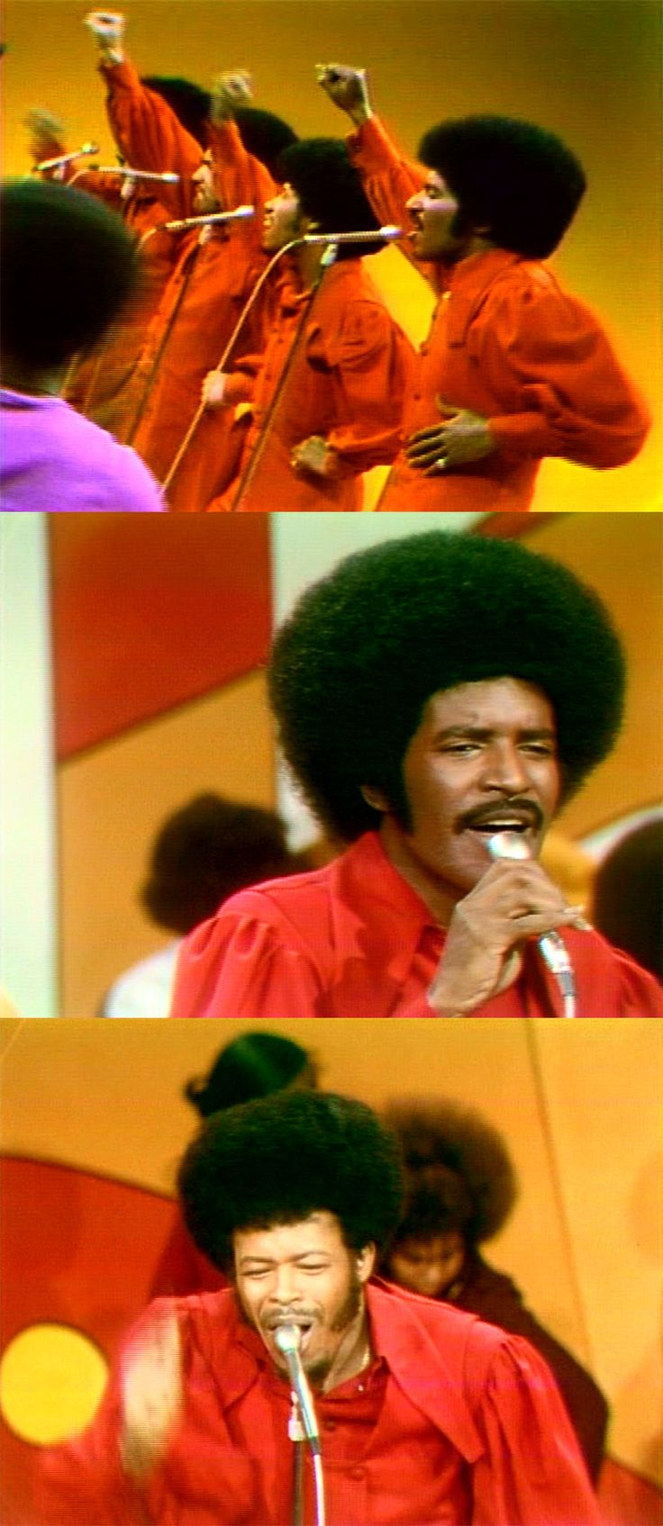 """The Chi-Lites perform """"Give More Power To The People"""" on Soul Train, December 18, 1971"""