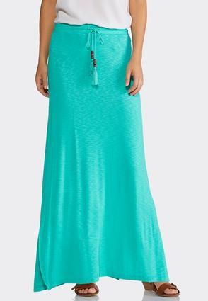 2cbd4ddfb Cato Fashions Plus Size Drawstring Slub Maxi Skirt #CatoFashions ...