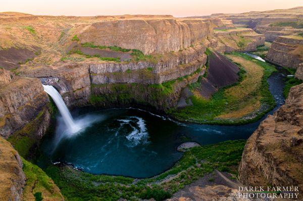 les chutes de Palouse (Washington)