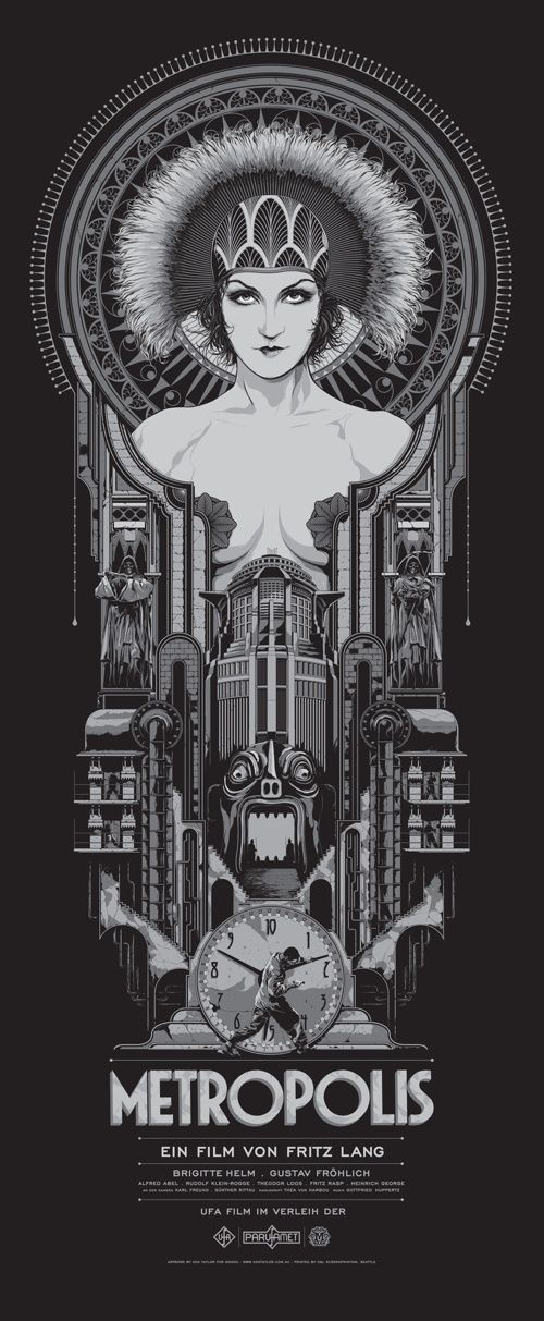 """""""Metropolis"""" (1926) - Fritz Lang's dystopia is still great 90 years later"""