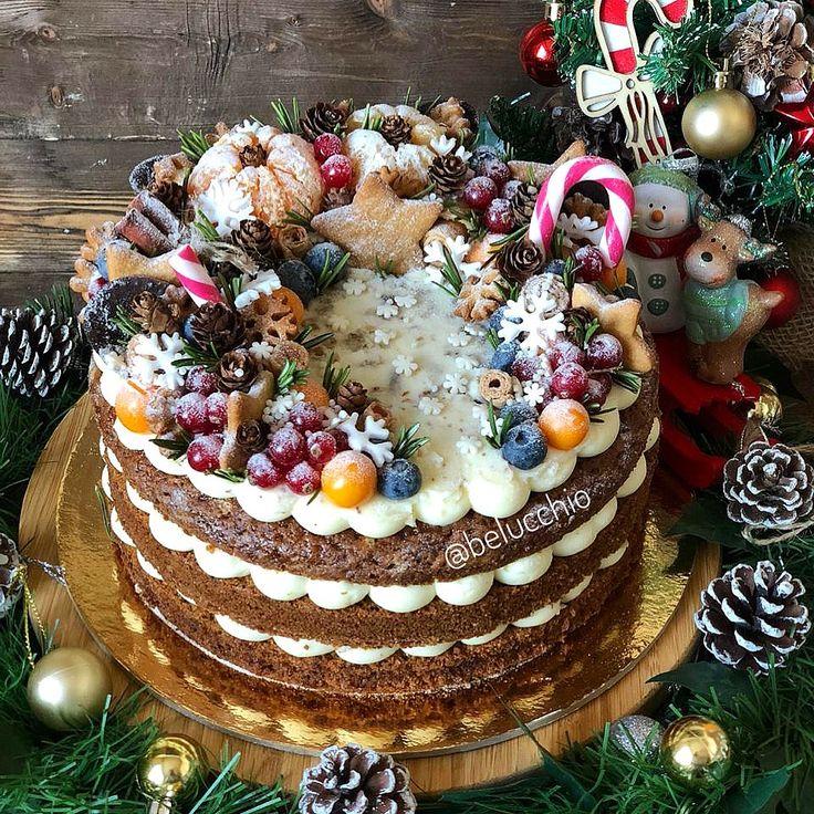 что фото рецепты тортов с новогодней тематикой сделать