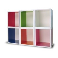 Way Basics Design A Cube Bookcase $20