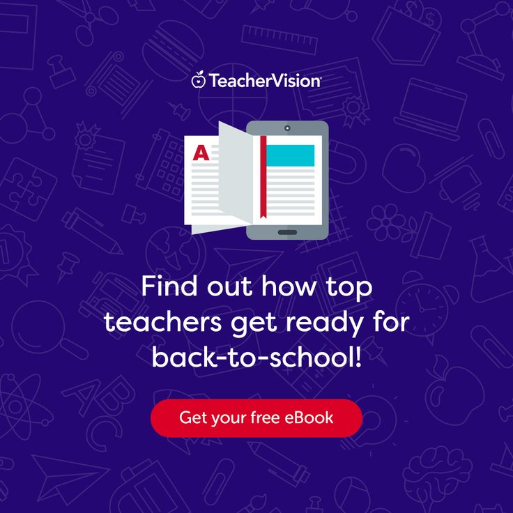 Find out what top teachers can't start a new school year without in our new e-book! It's free to download now at TeacherVision.com.