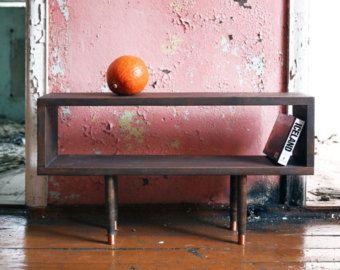 TV Table Katla. Reclaimed wood Furniture. Handmade Furniture. Midcentury Modern TV Stand