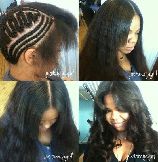Terrific 1000 Images About Straightened Natural Hair On Pinterest Short Hairstyles Gunalazisus