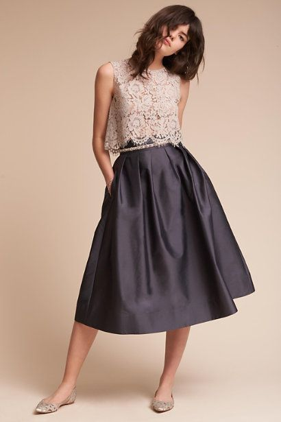 Cleo Top & Rockport Skirt in  Bridal Party | BHLDN