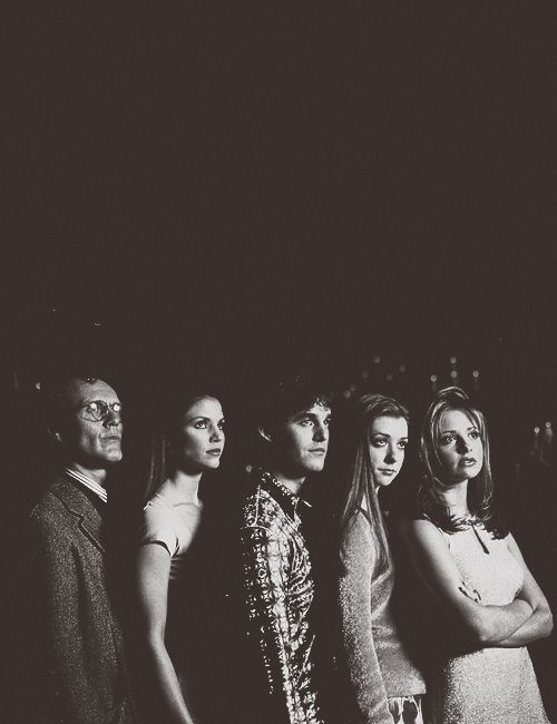 buffy, cordy, willow, xander, giles