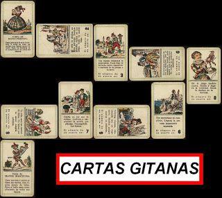 LAS CARTAS GITANAS Y LA ADIVINACIÓN