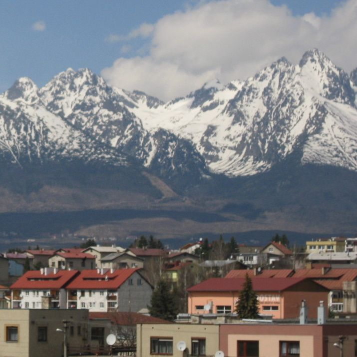 Poprad has undeniably one of the best backdrops of any city in Eastern Europe.