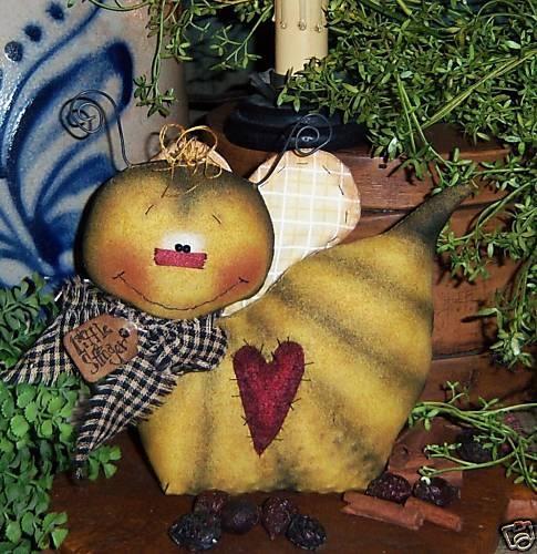 Primitive Bumble Bee Bug Garden Doll Ornie Pattern #448