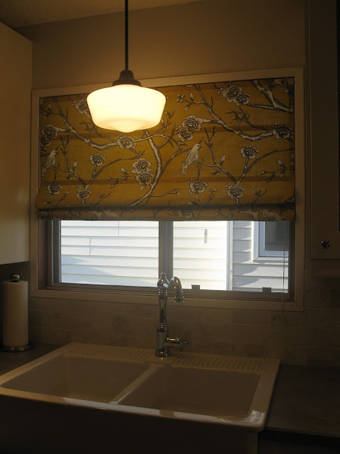 no sew roman blind