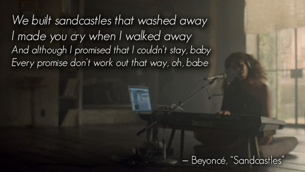 Beyoncé's latest musical offering is a deep dive into her emotions. Fair warning.