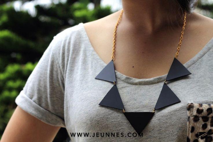 LADIES | TRIANGLE NECKLACE only 29k idr  Shop more: WWW.JEUNNES.COM