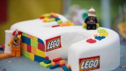 Silikonform Bausteine Schokolade Fondant Lego Kindergeburtstag