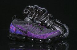 ef4c1c0fc67 Rare Nike Air VaporMax Flyknit 2 Dark Grey Purple 942842 600 Women s Men s  Running Shoes