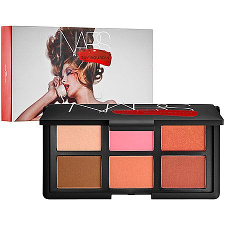 NARS Limited Edition One Night Stand Cheek Palette, $65.  The ultimate blush set with beautiful shades that looks great on all skin tones.