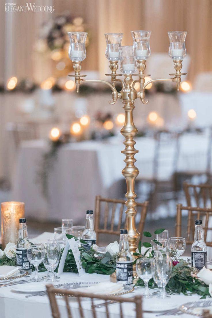 The 25 Best Candelabra Wedding Centerpieces Ideas On Pinterest