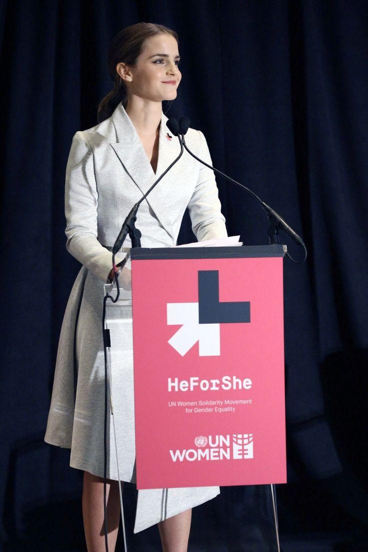 Emma Watson for UNWomen my Woman Crush Wednesday, every Wednesday.
