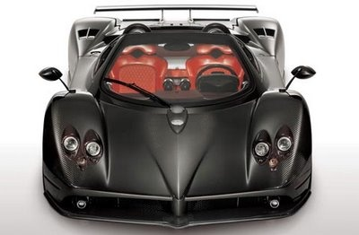 Pagani Zonda F  215 mph+, 0-60 in 3.5 secs. Mercedes Benz M180 V12 Engine with 650 hp, base price is $741,000. With a V12 motor, this baby can do much better.