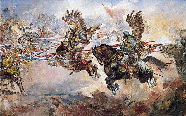 Atak husarii. Kirchholm