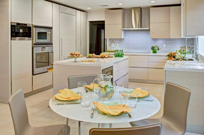 Client: Modiani Kitchens and Interiors - Country: USA - City: Closter, New Jersey - Model: Yara – Yellow pine magnolia - Photographer – Memories TTL #CesarKitchen #design #interiors #kitchen