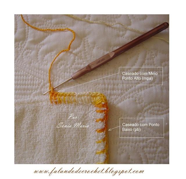 CASEADO DE CROCHE: Hook, De Bebe, Caseado De, Croch Trico, Barred, En Crochet, Crochet To, Croche Trico, Quaver
