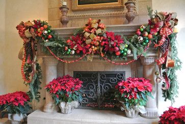 tuscan christmas decorating ideas | Houzz - Home Design, Decorating and Remodeling Ideas and Inspiration ...