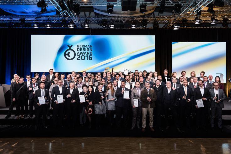 All winners of the German Design Award 2016.