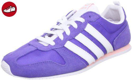 adidas , Mädchen Laufschuhe dunkelviolett, Joy Purple / White / Haze Coral, 37.5 - Adidas sneaker (*Partner-Link)