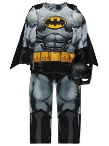 Batman Fancy Dress Costume, read reviews and buy online at George. Shop from our latest range in Kids. They don't have to be an American billionaire to wear ...