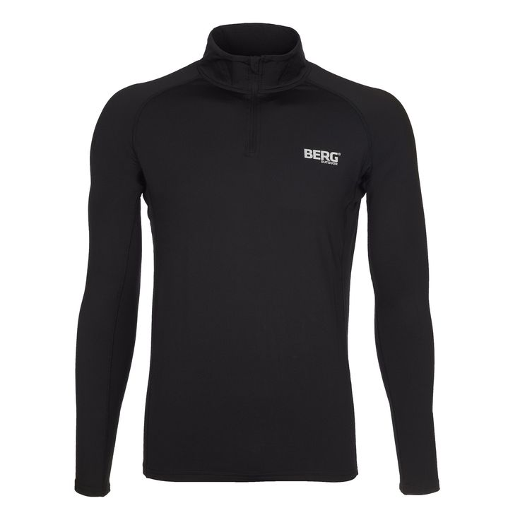 Base-layer with polar fleece lining and zippered collar, prepared for any adventures requiring good protection against the cold.