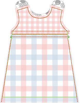Free sewing tutorial and pattern Dutch baby dress (6 different sizes)