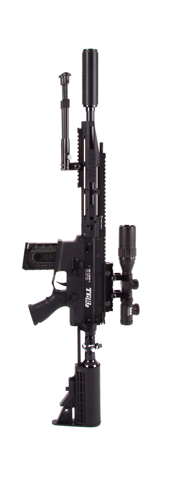 Maxtact TGR2 Ronin Custom Sniper Edition MagFed Paintball Marker