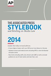 """""""The Associated Press Stylebook"""": We can't recommend this book enough! This copy style guide is essential to every content writer. The 2015 edition ships in May. #TheContentPro #OliveNecessities"""