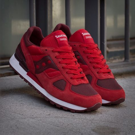 62356f631ce6 ... Saucony Shadow Original  Red Burgundy ...