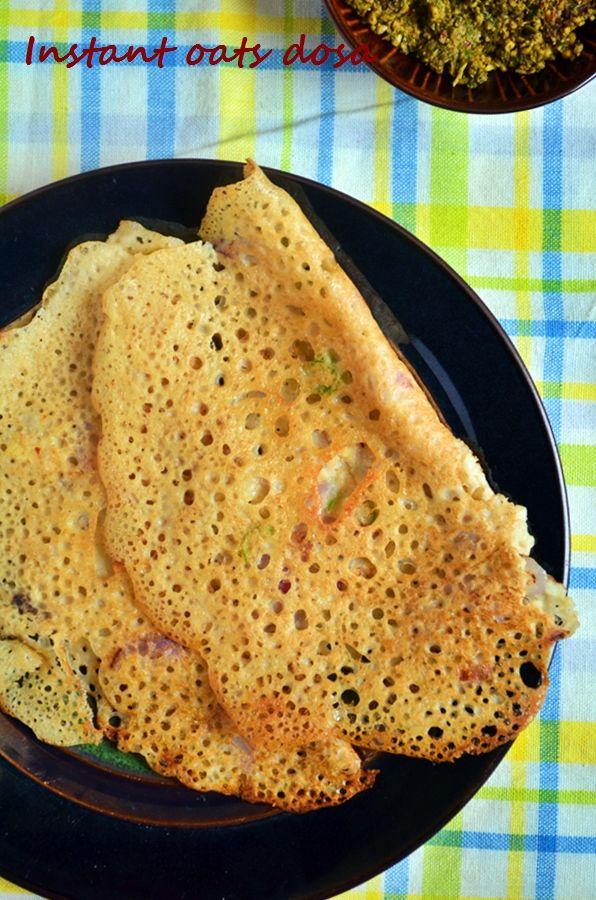 Oats dosa recipe,instant oats dosa | Indian oats recipes