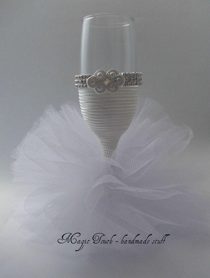 wedding glas