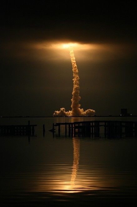 Space shuttle night launch                                                                                                                                                     More