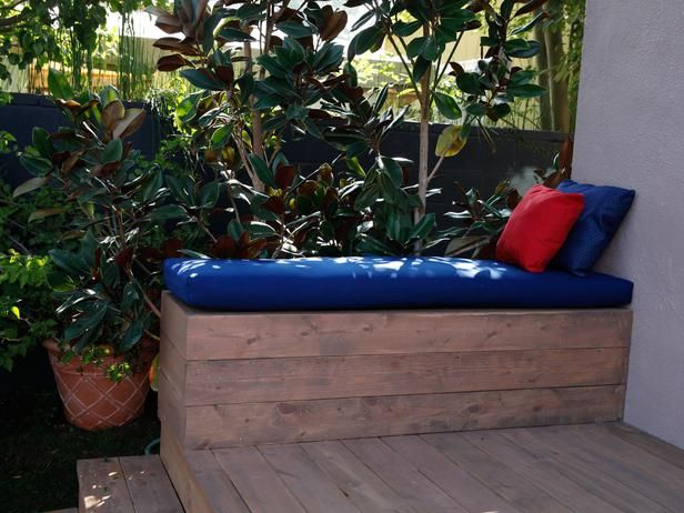 Tropical Pool Area with Wood Decking and Lounge Chairs : Designers' Portfolio : HGTV - Home & Garden Television