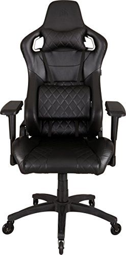 comfortable office chairs for gaming. corsair race, gaming chair, high back desk \u0026 office black/black comfortable chairs for