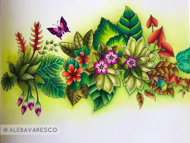 Inspirational Coloring Pages by @alebavaresco #magicaljungle #selvamagica…