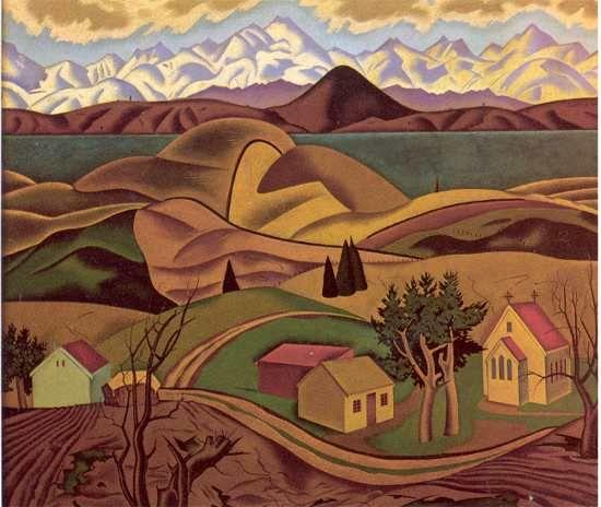 Central Otago - Rita Angus
