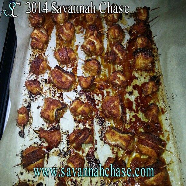 Brown Sugar Chillie Bacon Chicken Breast