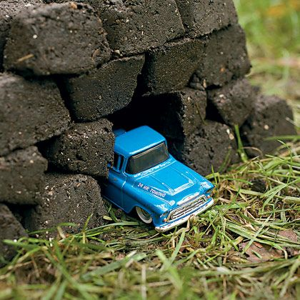 Beyond Mud Pies: Mud Bricks