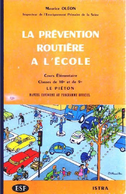 Oléon - La prévention routière à l'école CE : le piéton
