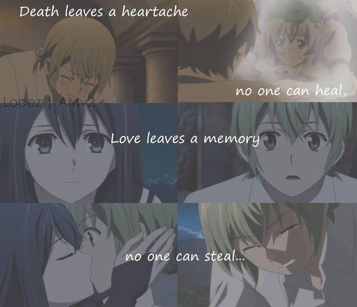Death  leaves  a heartache...